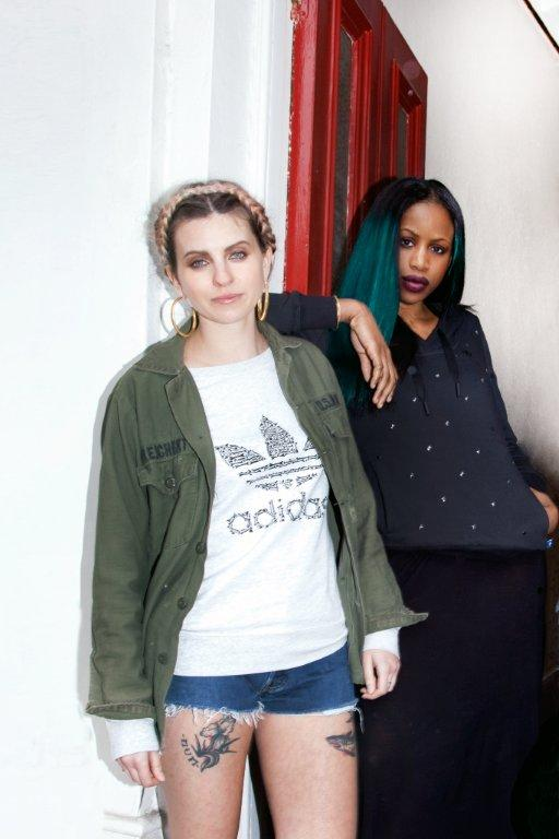 adidas Originals women unite in London for SS13 13