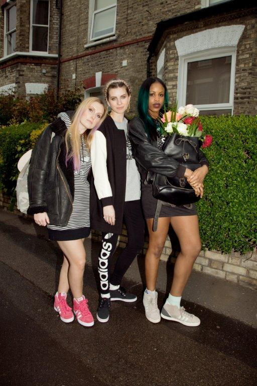 adidas Originals women unite in London for SS13 15